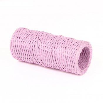 Проволока с бумажным покрытием 1.5 мм х 50 м, 80 г, светло-фиолетовая