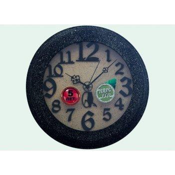 Часы настенные d30-314-камень
