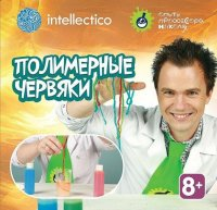 Набор для опытов с профессором николя полимерные червяки