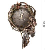 Ws-941 панно-часы девушка и лилии
