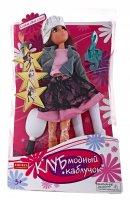 Кукла шарнирная, клуб модный каблучок, в кепке