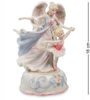 Cms-19/26 музыкальная статуэтка ангел и балерина (pavone)