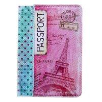 Обложка для паспорта магия парижа