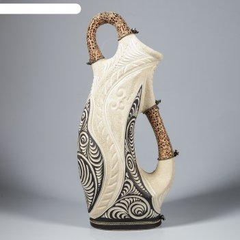 Ваза напольная форма арго шамот