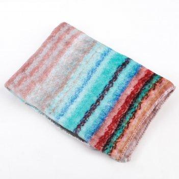 Тряпка для мытья полов мягкая, микрофибра, цвет микс