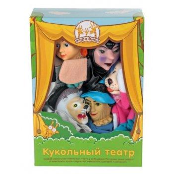Кук. театр волшебник изумрудного города, 6 кукол