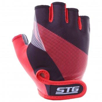 Перчатки велосипедные stg х87912, размер xl