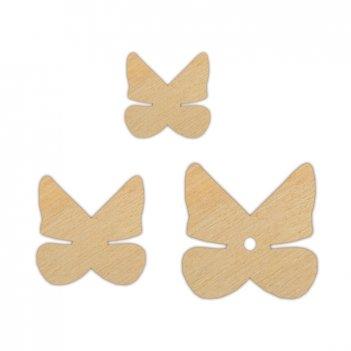 Набор декоративных элементов очаровательные бабочки