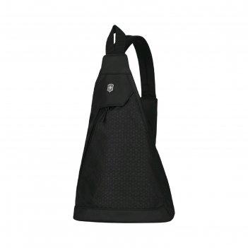 Рюкзак victorinox altmont original, с одним плечевым ремнём, чёрный, 25x14