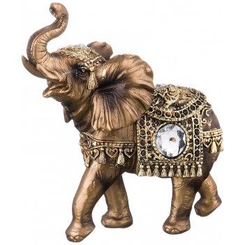 Фигурка слон 15,5*6,5*16,5 см. (кор=24шт.)