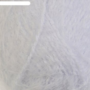 Пряжа хлопок травка 65% хлопок 35% полиамид 220 м/100гр (205 белый)