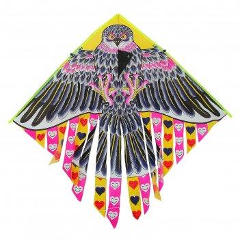 Воздушный змей сова с леской
