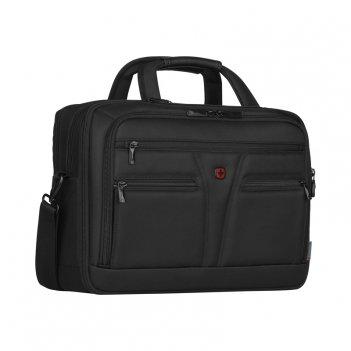 Портфель wenger для ноутбука 14-16  , черный, баллистический нейлон, 41 x