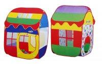 Игровая палатка домик хорошего настроения, разноцветная