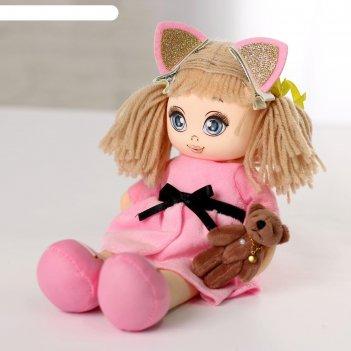 Кукла мия с игрушкой