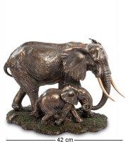 Ws-772 статуэтка слон с детенышем