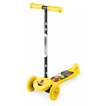 Трехколесный самокат small rider scooter (cz) (желтый)