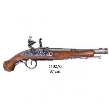 1102/g пистолет системы флинтлок, 18 век