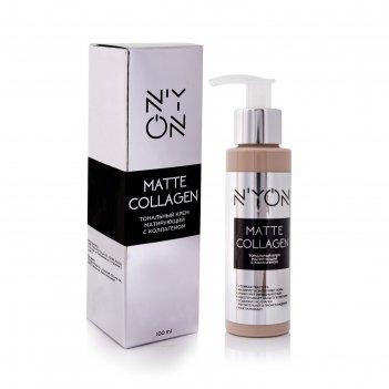 Тональный крем n'yon matte collagen, матирующий с коллагеном, тон 105
