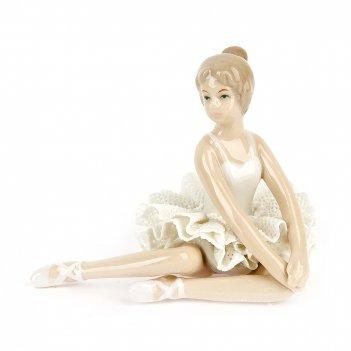 Фигурка декоративная балерина 11*7*8,5см. (фарфор) (транспортная упаковка)