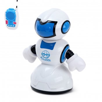 Робот радиоуправляемый «танцор», световые и звуковые эффекты