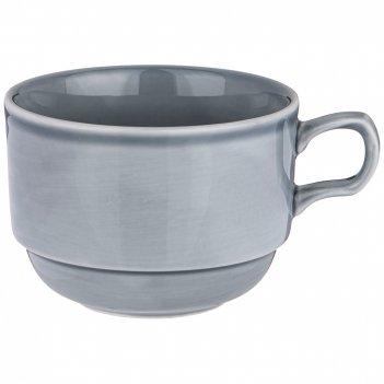 Чашка чайная lefard tint 250мл (граффит) (кор=6шт)