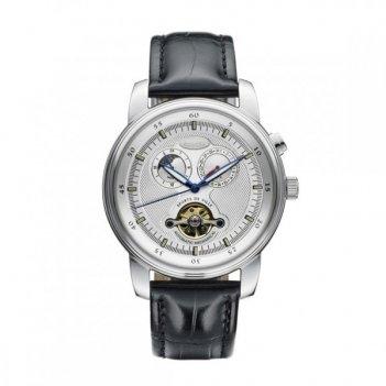 Спортивные часы coupe, черный ремень/атласный циферблат