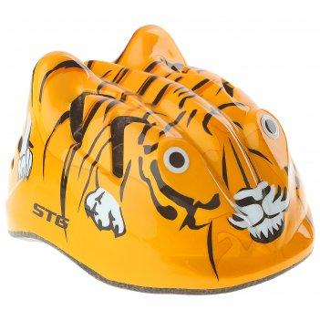 Шлем велосипедиста stg, размер s (48-52 см), mv7-tiger