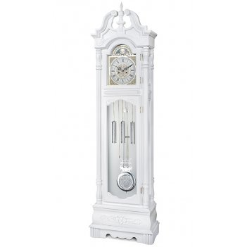 Часы напольные columbus cl-9221m «белый лебедь»