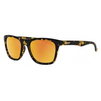 Очки солнцезащитные zippo, унисекс, коричневые, оправа из поликарбоната