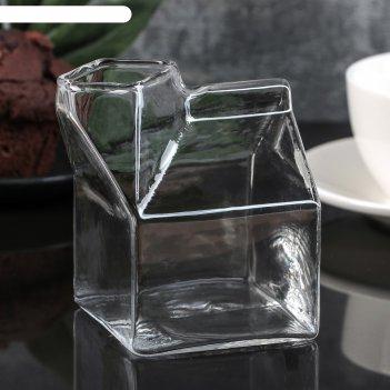 Молочник пакет 8,5х7,5х9,5 см
