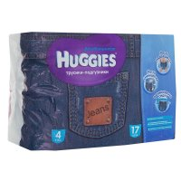 Трусики-подгузники для мальчиков хаггис  литтл волкерс размер 4 9-14 кг, 1