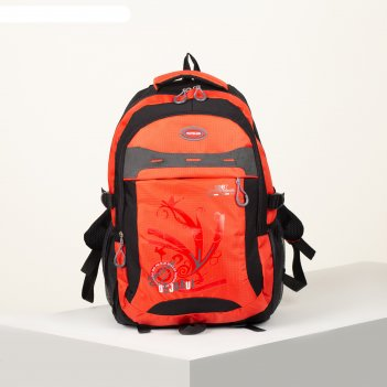 Рюкзак турист стиль, 31*12*50, 2 отд на молнии, 2 бок кармана, дыш спинка,