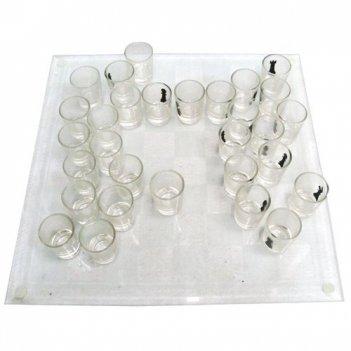 Шахматы рюмки и стопки 35x35x5 см