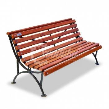 Садово-парковая скамейка «мой парк» 2.0 м (две опоры)