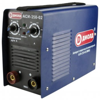 Сварочный аппарат диолд аси-250-02, инверторный, 9.2 квт, 250а, 1.6-6 мм