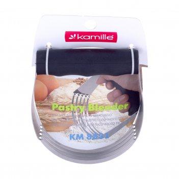 Резак для теста kamille с силиконовой ручкой km-8831