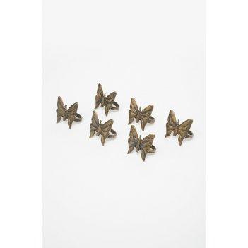 Держатель для салфеток бабочка, 6х4,5 см