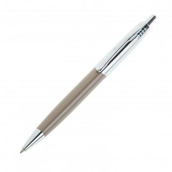 Ручка шариковая pierre cardin easy, латунь, лак, хром, стержень синий (pc5