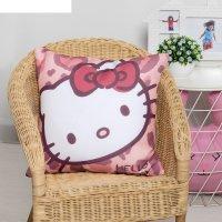 Подушка декоративная hello kitty 40х40, цвет розовый 100% полиэстер