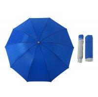 Зонт женский мех.ветроустойчивый 10 спиц r=54см h=60см однотонный микс /се