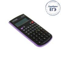 Калькулятор научный 8+2, 84*154*19мм, пит.от батарейки, пурпурный sr135npu