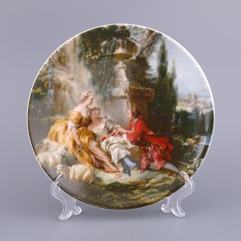 Тарелка настенная диаметр=19 см.