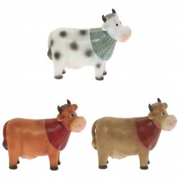 Копилка  корова, l16 w5 h14 см, 3в.