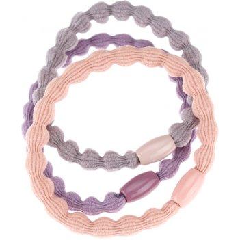 Резинки для волос dewal beauty букле, цветные (3 шт.)