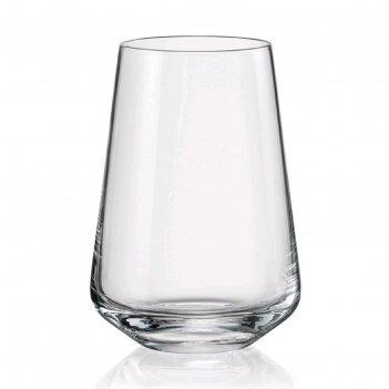 Набор стаканов для воды 380 мл, 6 шт