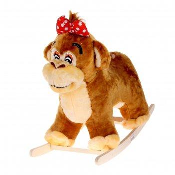 Качалка обезьянка-девочка