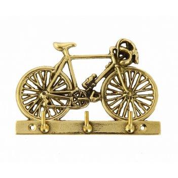 Вешалка велосипед (3 крючка)/ 12х8см.