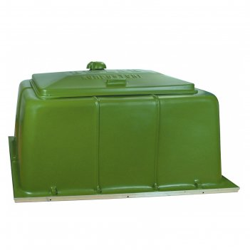 Садовый компостер biolan, 900 л, цвет зеленый