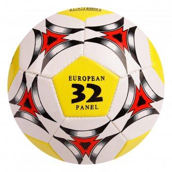 Мяч футбольный р.5 32 панели, 2 подслоя, pvc 260 гр